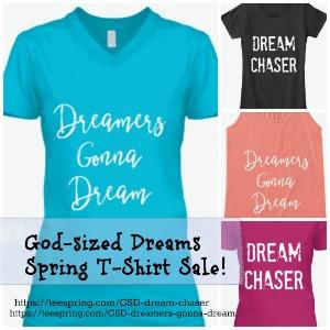 GSD Spring T-Shirt Sale