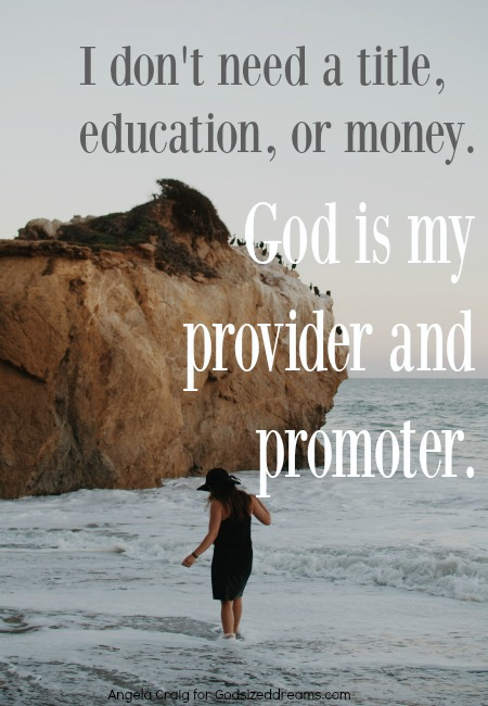 Quitter-God is My Provider and Promoter