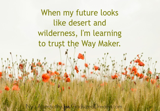 learning to trust the way maker