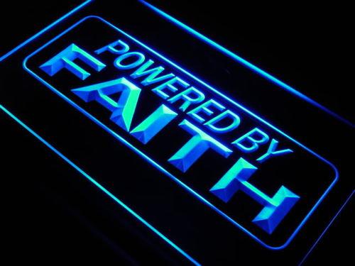 faithPowered by Faith Home Decor Neon Light Sign