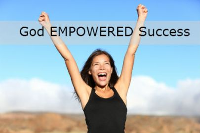 Woman-Celebrating-raising-hands-to-the-sky-God-Empowered-Success