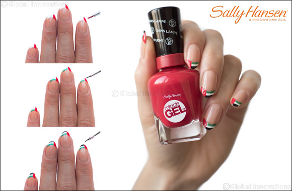This December Celebrate The Spirit Of Union With Sally Hansen And Create Super Easy Nail Art