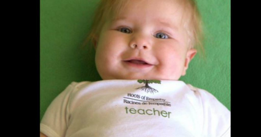 Seven-Month-Old Baby Teaches Students How To Relate To ...