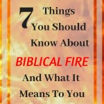 7 Things You Should Know about Biblical Fire and what it means to you