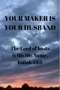 Lord of hosts maker is husband
