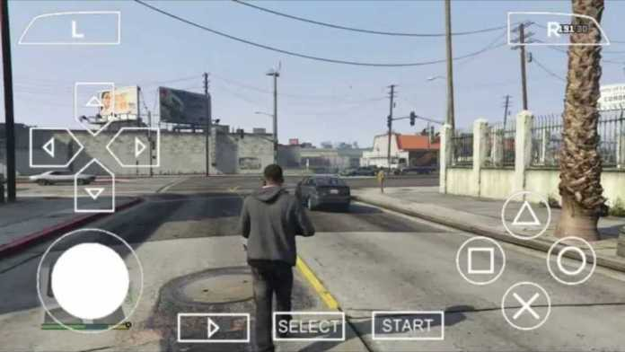 Highly compressed GTA 5 ppsspp