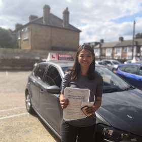 Passed my test with eastendd driving school