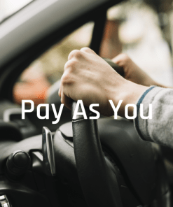 Pay as you go driving lesson