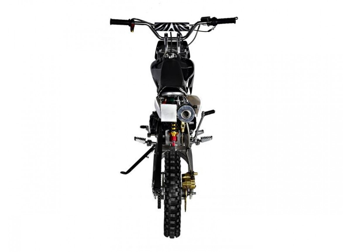 GMX Rider X Dirt Bike 125cc (Black)