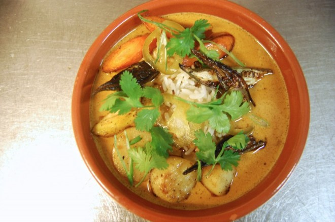 coconut curry flora restaurant