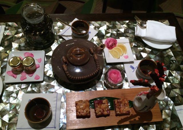 high cherry tea at the ritz