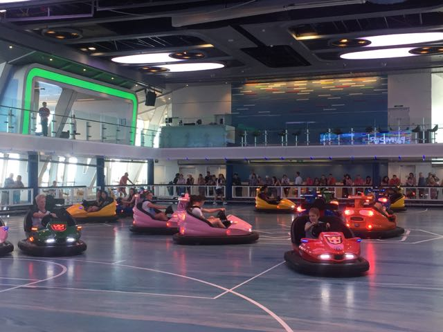 bumper cars on Anthem of the Seas