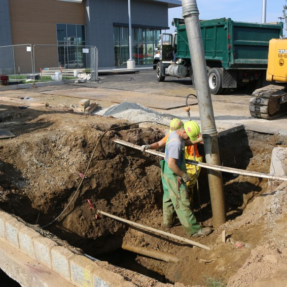 Locating underground utilities