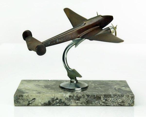 1930s Airplane Sculpture