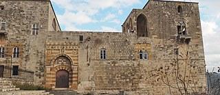Eingang zum Palast der Familie Baz in Deir El Qamar
