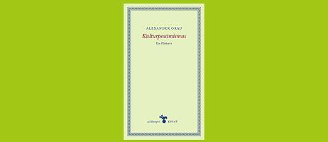 Buchcover: Kulturpessimismus