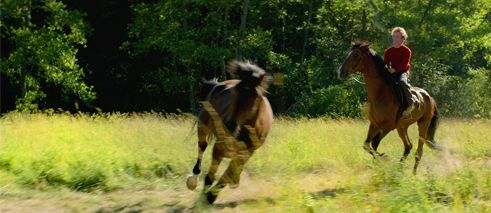 Jon Ranes (auf Pferd)