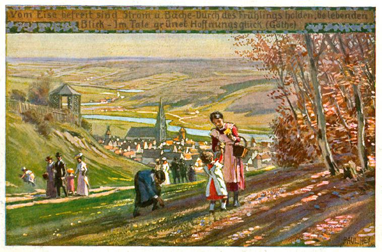 Das Goethezeitportal Illustrationen zu Szenen aus Goethes