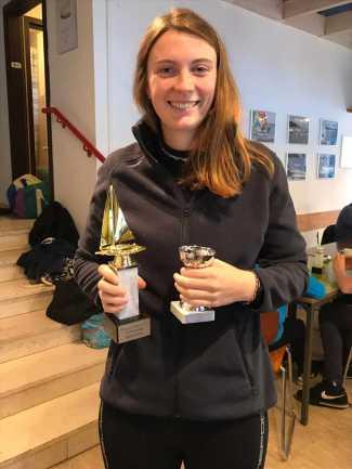 Siegerin Clubmeister Vorschoter- Emilia Kröger