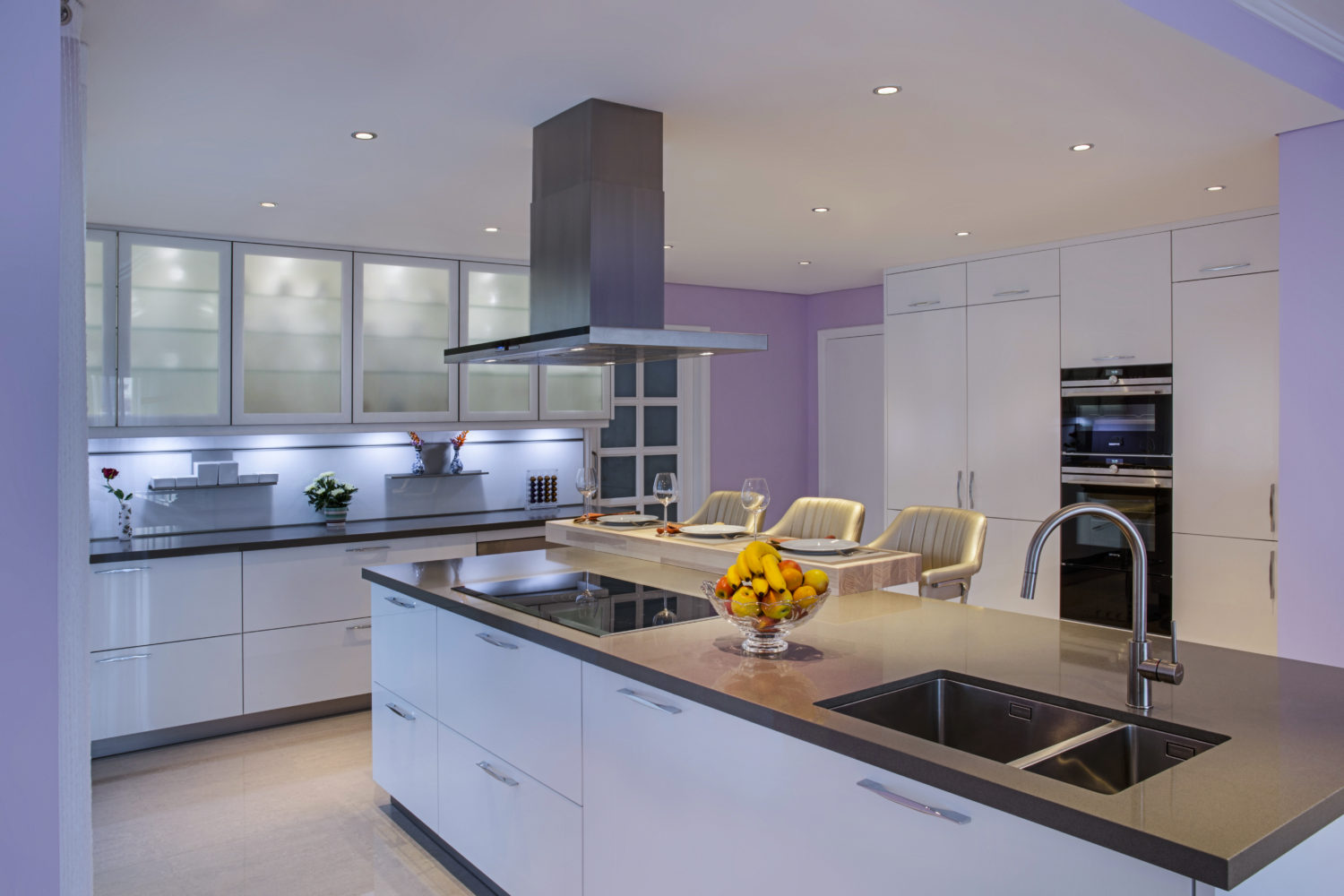 complete kitchen renovation in green community west - family villa