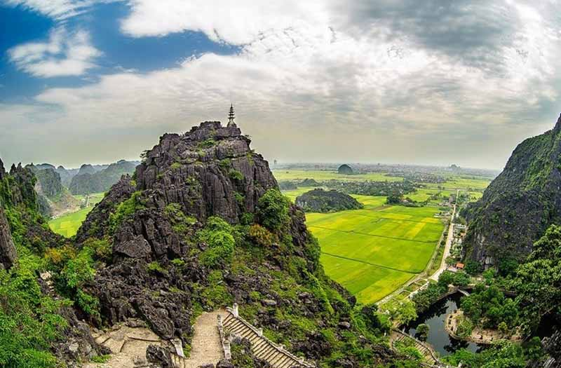 Hang Mua is one of the destinations you cannot miss in Ninh Binh 2-day tour
