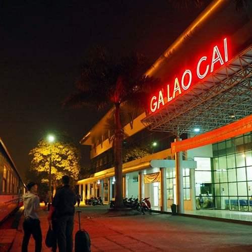 Lao Cai railway station