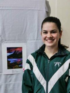 Grade 12 pupil Sarah Volker
