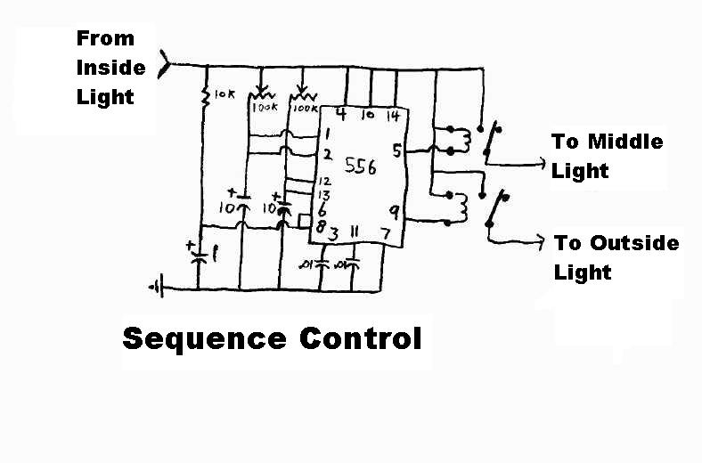 Circuit that will delay the turning on of a light