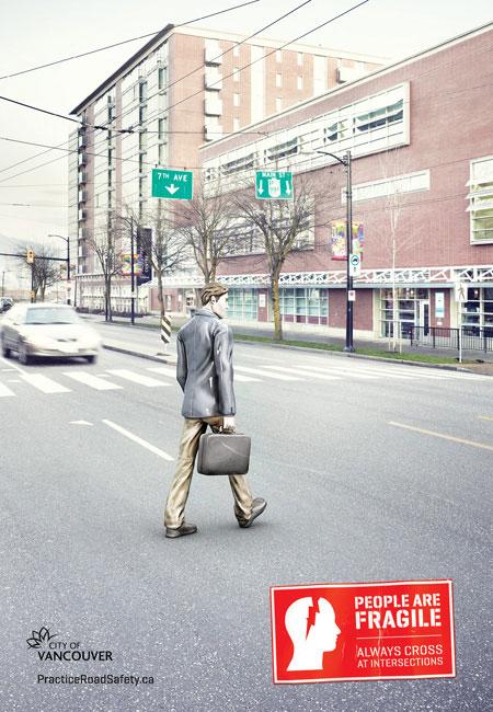People are Fragile: Pedestrian
