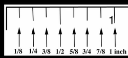 How to read a ruler in decimals
