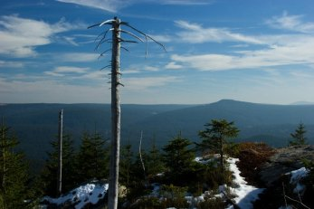 Sokol mountain from Oblik