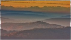 The Alps from Boubin mountain