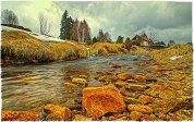 Hamersky creek by Horska Kvilda