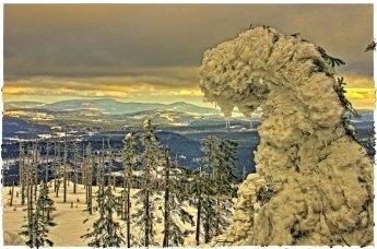 Winter on Tristolicnik mountain