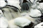 Vydra river in Winter