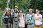 Fly fishing gang Romania