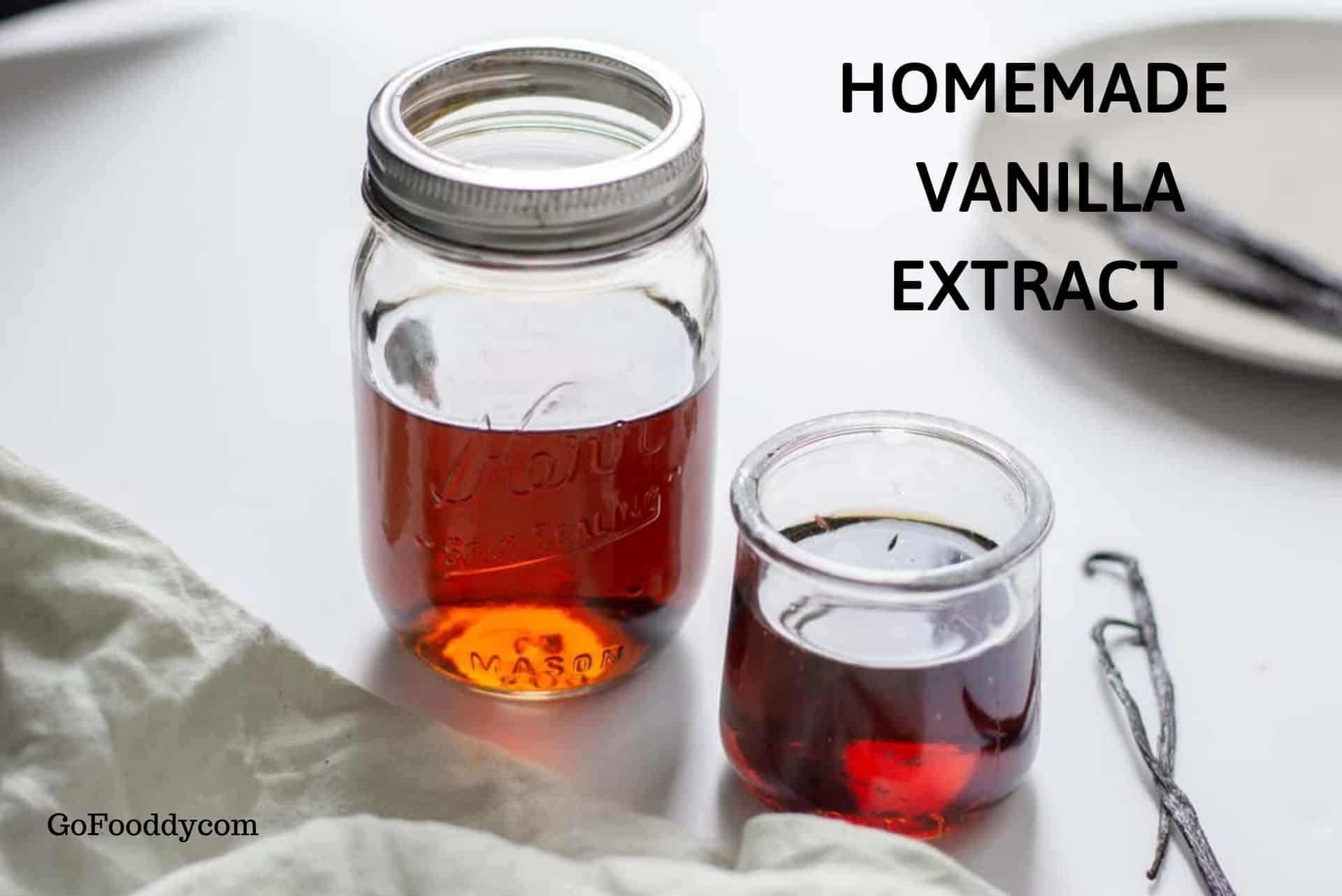 vanilla extract recipe
