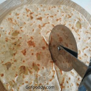 ghee paratha / Stuffed tortilla