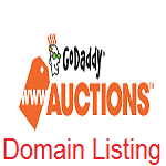 list domain in godaddy auctions