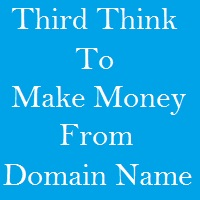 Make Money from domain name Affiliate