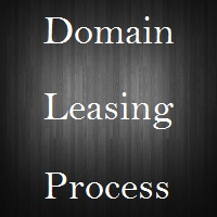 domain name leasing process