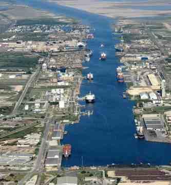 Puerto de Brownsville-comercio exterior