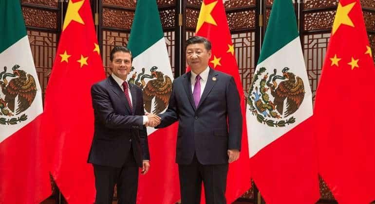 CHINA-MÉXICO Comercio