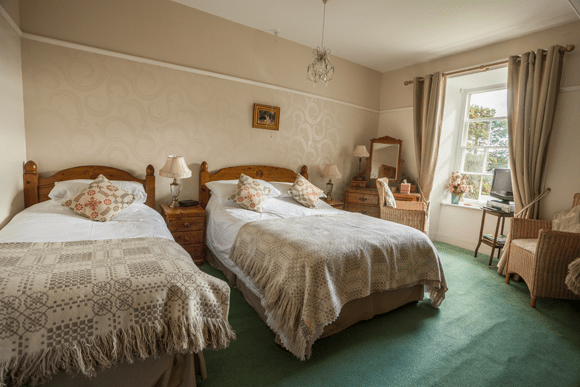bed and breakfast twin room