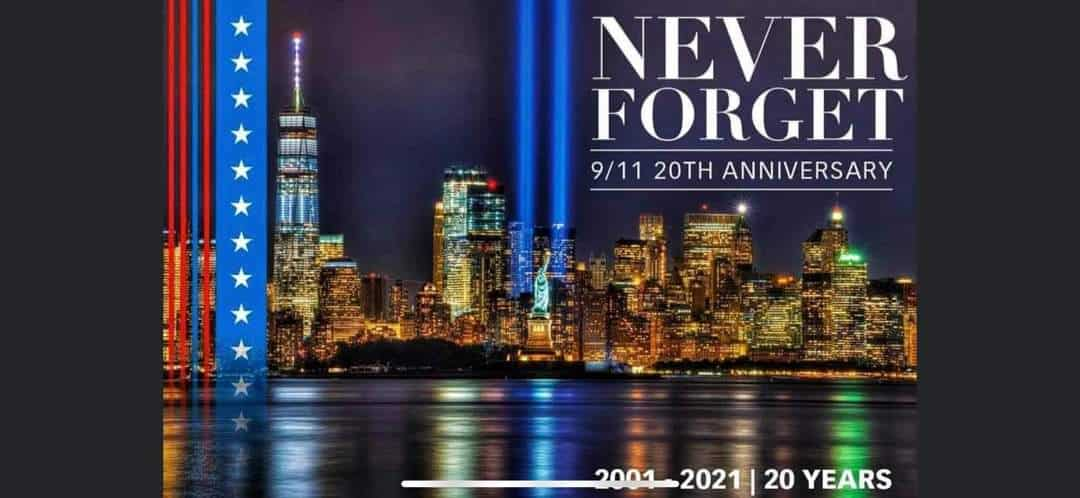 9/11 Tribute 20 years later