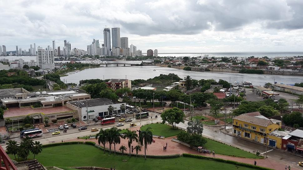 Stadtansicht Cartagena