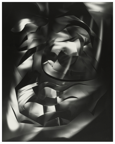 Francis Bruguière. Light Abstraction. c. 1925. Gelatin silver print, 9 15/16 x 7 15/16″ (25.2 x 20.2 cm). The Museum of Modern Art,  New York. Gift of Arnold Newman © 1991 Kenneth H. Bruguière and Kathleen  Bruguière Anderson