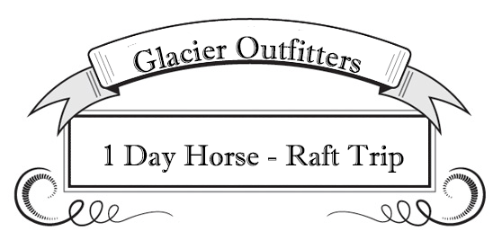 1 Day Horse - Raft Trip, Guided River Rafting