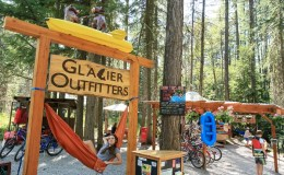 Glacier Outfitters, Hammock, employee, Apgar Village, West Gl;acier, rentals, kayak, bike, paddleboard, canoe,bear spray,tent,sleeping bag,pack raft,trekking poles,