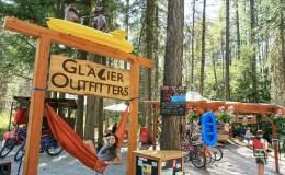 Glacier Outfitters, Hammock, employee, Apgar Village, West Gl;acier, rentals, kayak, bike, paddleboard, canoe,bear spray,tent,sleeping bag,pack raft,trekking poles,